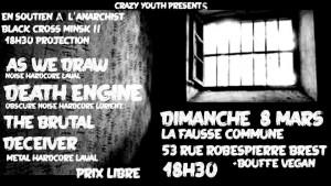 Concert 8 mars